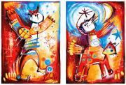 Vuelo en Pareja (vliegend paar)