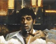 Tony with cigar (Scarface)